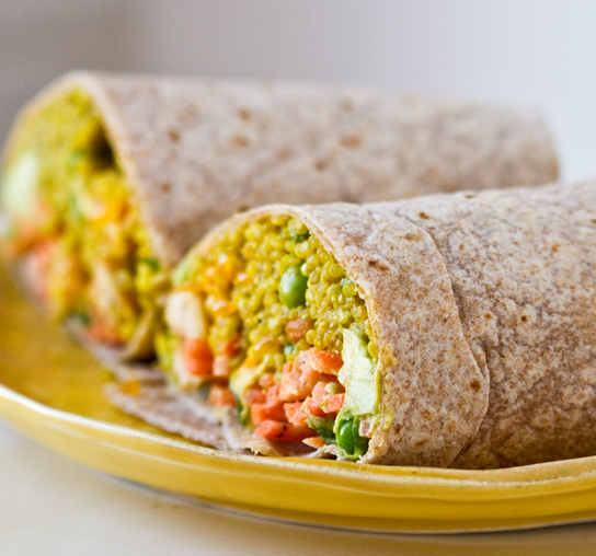 curried-quinoa-wraps
